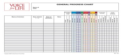 Voice For Life General Progress Chart