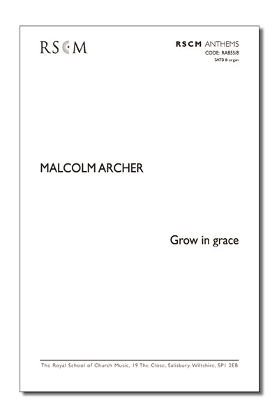 Archer: Grow in grace