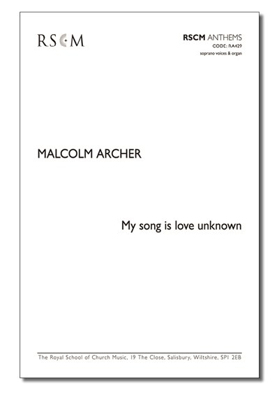 Archer: My song is love unknown (SS)