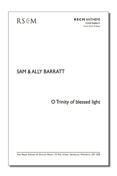 Barratt: O Trinity of blessed light