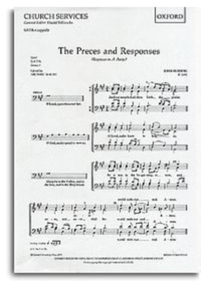 Reading: Preces and Responses (SATB)