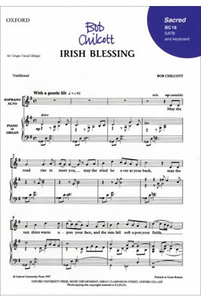 Chilcott: Irish blessing