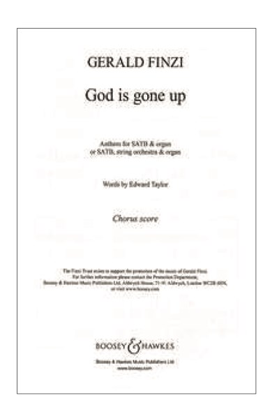 Finzi: God is gone up