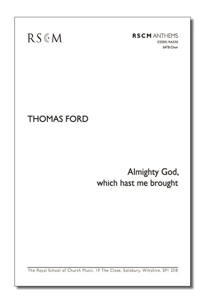 Ford: Almighty God which hast me brought