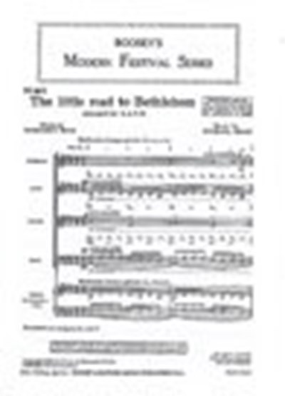 Head: The little road to Bethlehem (SATB)