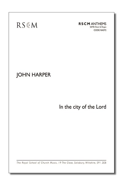 Harper: In the city of the Lord