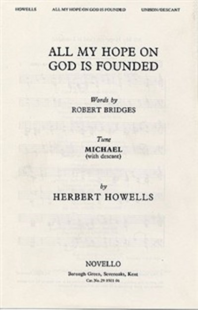 Howells: All my hope (descant by the composer)