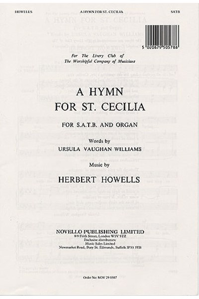 Howells: Hymn for St Cecilia