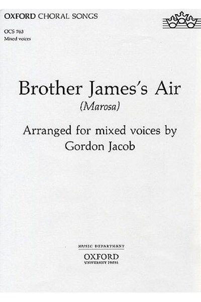Jacob: Brother James's air (SATB)