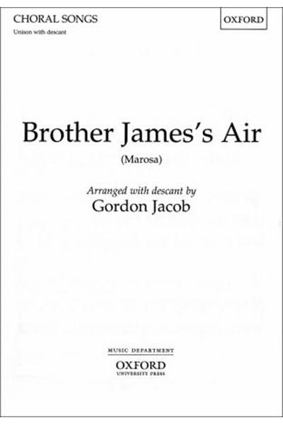 Jacob: Brother James's air (U with descant)