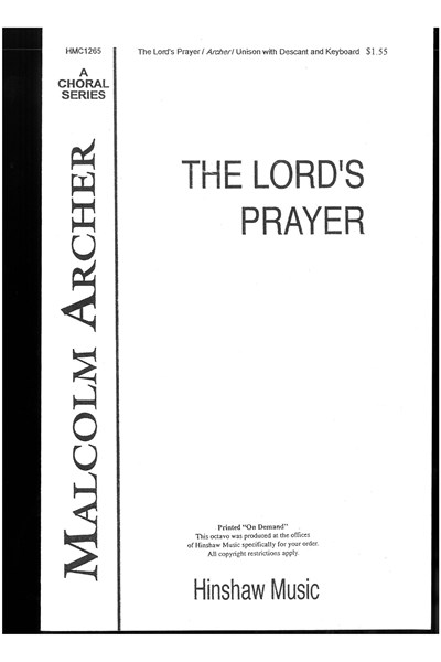 Archer: The Lord's Prayer