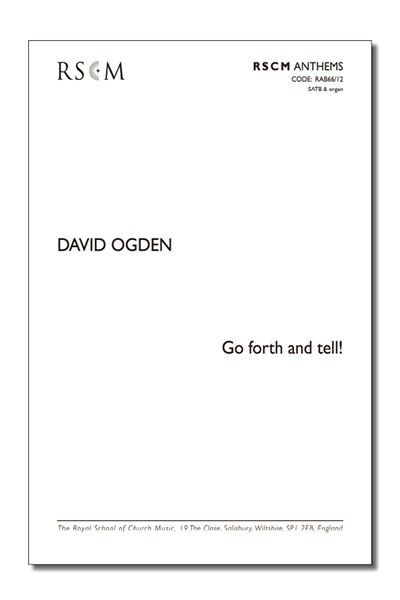 Ogden: Go forth and tell