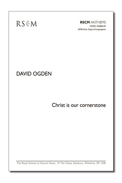 Ogden: Christ is our cornerstone