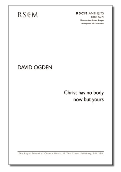 Ogden: Christ has no body now but yours