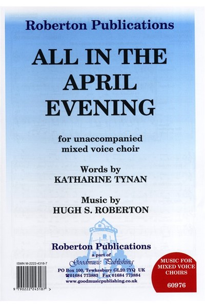 Roberton: All in the April evening SATB