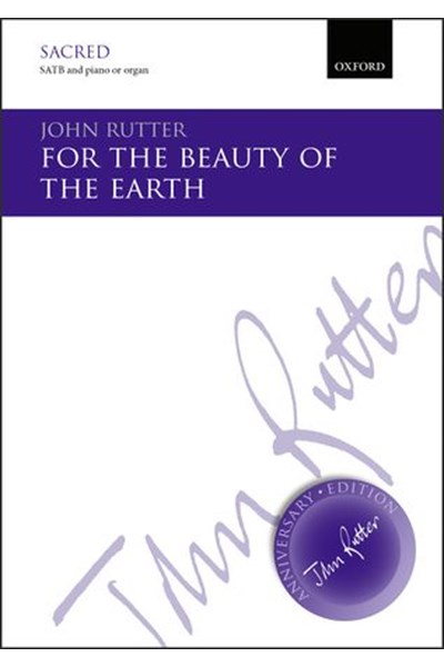 Rutter: For the beauty of the earth (SATB)
