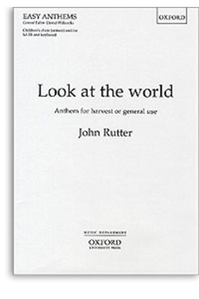 Rutter: Look at the world