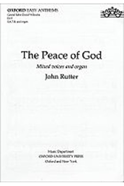 Rutter: Peace of God (SATB)