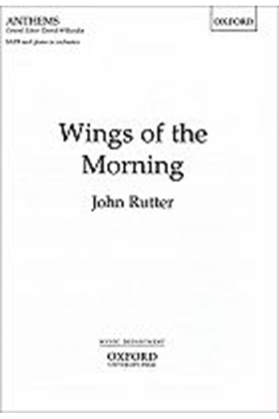 Rutter: Wings of the morning