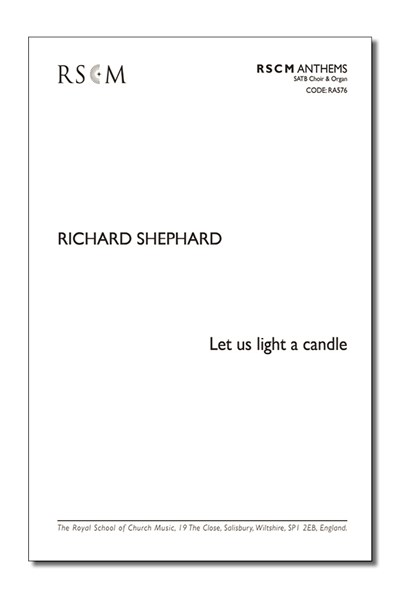 Shephard: Let us light a candle
