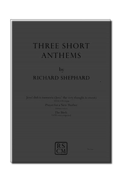 Shephard: Three short anthems