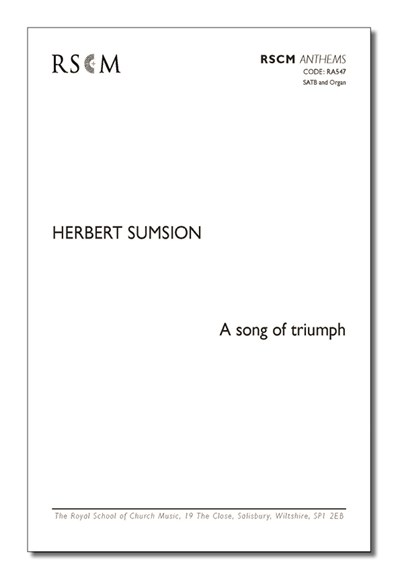 Sumsion: A song of triumph