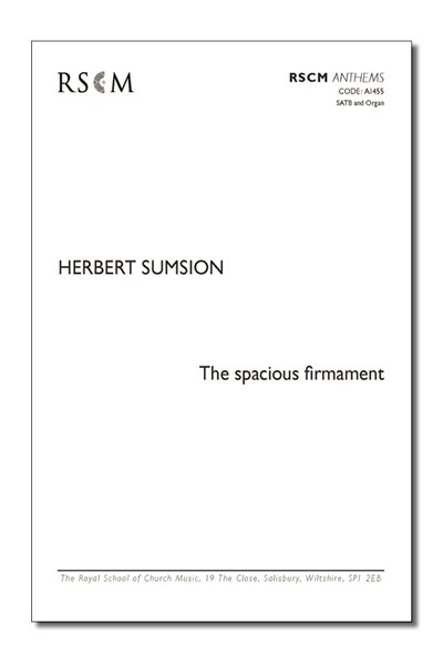 Sumsion: The Spacious Firmament