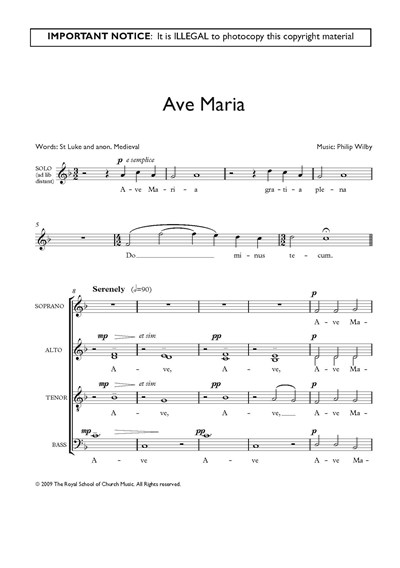 Wilby: Ave Maria
