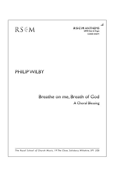 Wilby: Breathe on me, breath of God