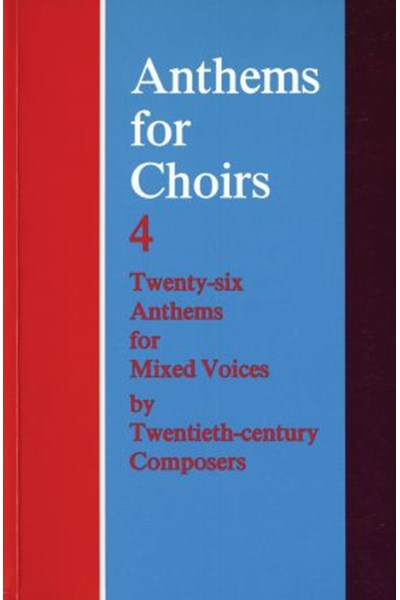 Anthems for Choirs 4 (ed. Morris)