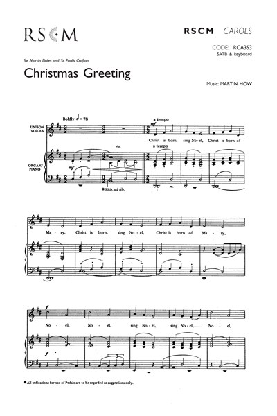 How: Christmas Greeting