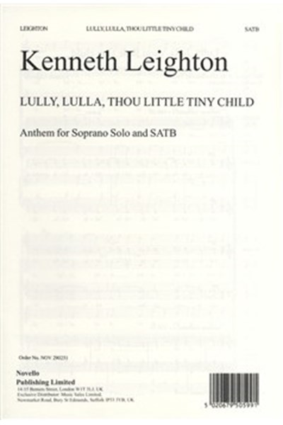 Leighton: Lully, Lulla, Thou Little Tiny Child Op.25b