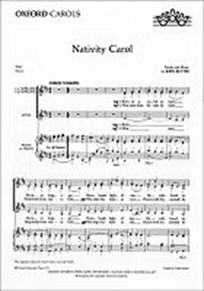 Rutter: Nativity carol (SSA)