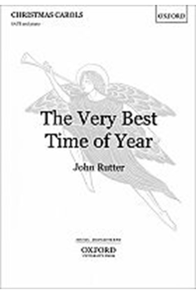 Rutter: Very best time of year