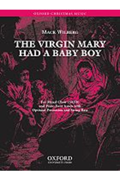 Wilberg: The Virgin Mary had a baby boy (SATB and piano four hands)