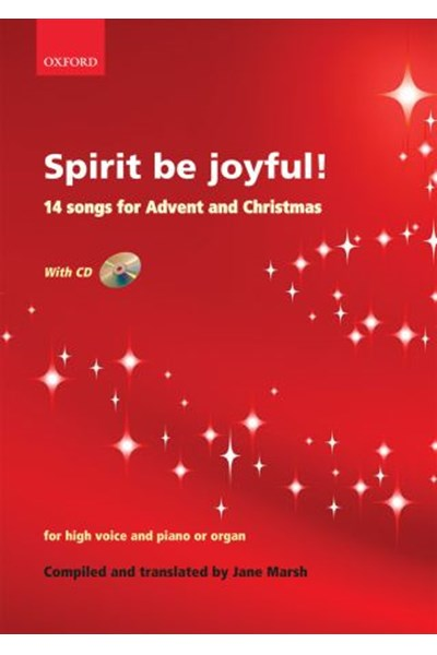 Spirit be joyful! 14 songs for Advent and Christmas (ed. Marsh)