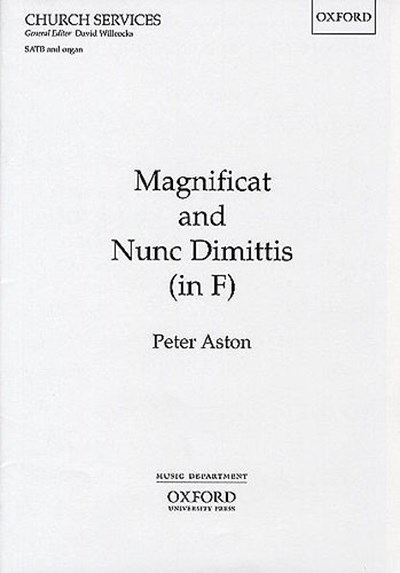 Aston: Magnificat and Nunc Dimittis in F