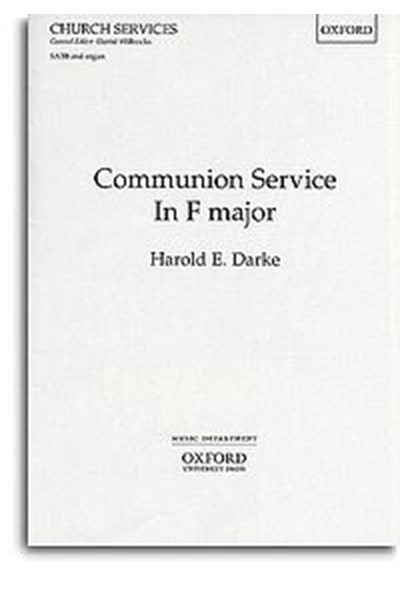 Darke: Communion in F