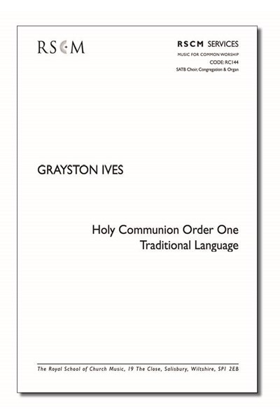 Ives: Holy Communion Common Worship Traditional Language (full)
