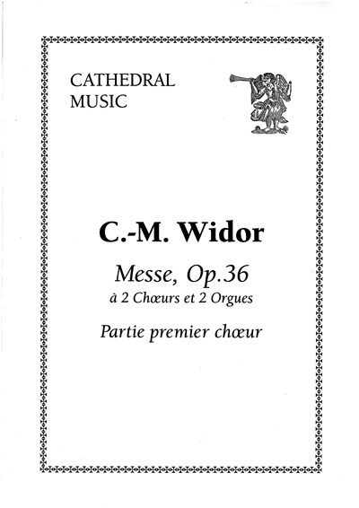 Widor: Messe op.36 VSC (Cathedral Music )