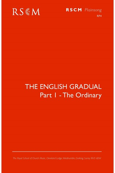 English Gradual I: Ordinary