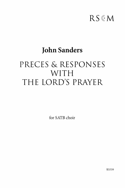 Sanders: Responses (based on the Dresden Amen)