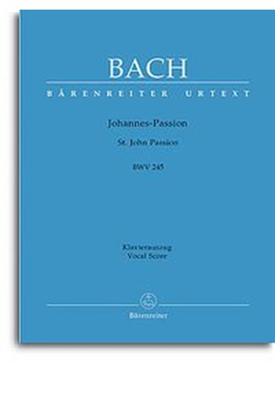 Bach: St John Passion (Ger/Eng)