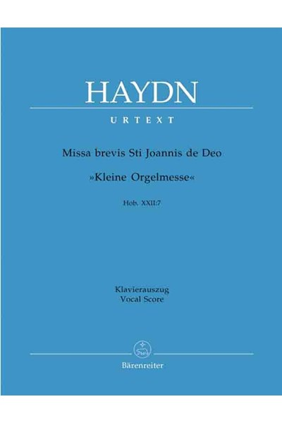 Haydn: Little Organ Mass (Barenreiter Edition)