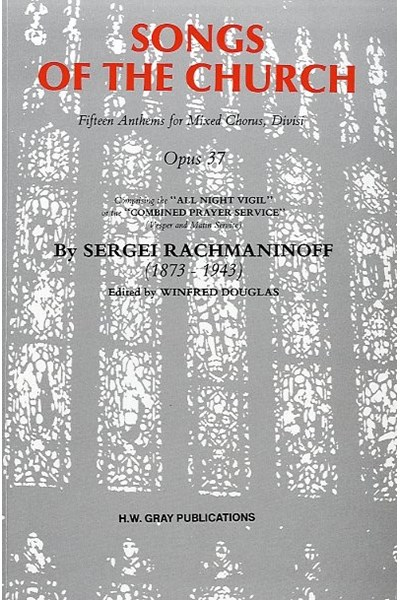 Rachmaninov: Songs of the Church, Op.37 (Vocal score)