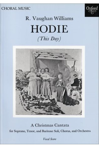 Vaughan Williams: Hodie (Vocal score)