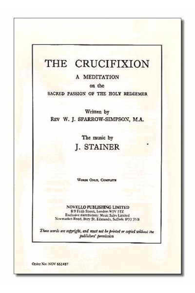 Stainer: The Crucifixion (Words - set of 50)