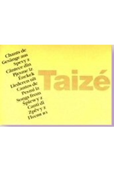 Taizé: Songs from Taizé 2018-19