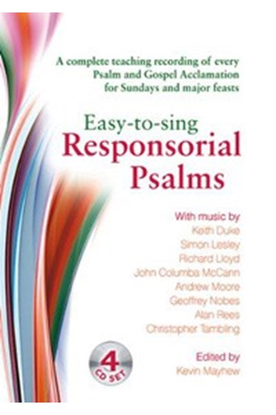 Easy to Sing Responsorial Psalms CD set