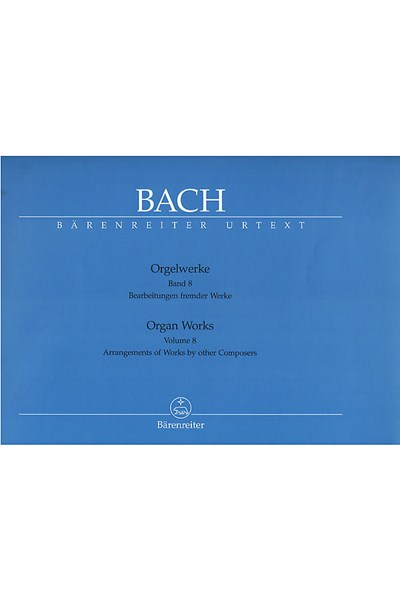 Bach: Organ Works, Vol.8